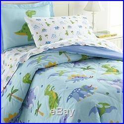 Wildkin Kids 100% Cotton Twin Bedding Set for Boys and Girls Comforter Set Fi