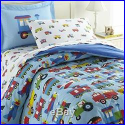 Wildkin Kids 100% Cotton Twin Bedding Set for Boys and GirlsTwin Comforter Se